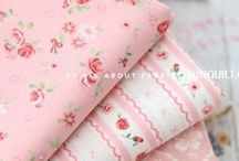 Quilting Fabrics Pinks / Ideas and inspiration for quilting fabric in pink and pink florals