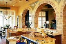 For the Home ~ Kitchens / A kitchen is the heart of the home ~ it should be as beautiful as it is functional!