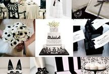 Weddings ~ Shades of Black and White