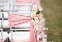 Weddings ~ Shades of Pink, Blush Pink, Dusty Rose / Lots of Pink