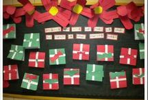 Christmas Bulletin Board Ideas & Decorations / Festive Christmas bulletin board ideas, designs, decorations, and themes for the classroom!