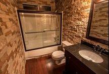 Brilliant baths! / AirStone in the bathroom!