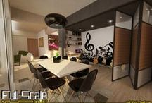 Residential Design / Residential Architectural and Interior Design By Full Scale Project