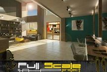 Commercial Design / Commercia Architectural and Interior Design By Full Scale Project