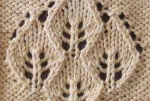 örgü (hand knitting patterns) / şişler ile el örgüleri / by saadet Demir