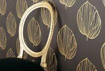 [ brass + black ] / menswear | nailhead trim | glossy black | rose gold | brass