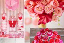 Red & Rose Wedding/ rote & rosa Hochzeit