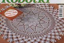 Old crochet magasins / Crochet,filet