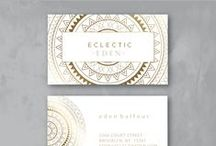 REVUU'D: Chic Branding / Chic, unique and sophisticated branding by Little Blue Deer http://bit.ly/pinterestrevuud