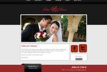 Datangya Theme Collection / Koleksi template undangan pernikahan online Datangya.com