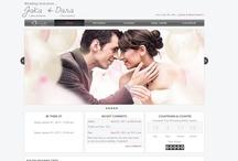 Apple2 / Template undangan pernikahan online tema Apple2