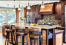 Stove Hoods  / Island Hoods, Stove Hoods, cooktop hoods can make or break your kitchen design. Check out the different options in copper, stone, wood, mantel style.. make it your own custom kitchen with this simple detail.