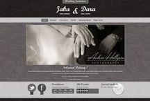 Grey Leather II / Desain tema undangan pernikahan online Datangya.com