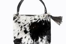 Cowhide Bags / Stunning, unique, leather Nguni cowhide bags Out of Africa.