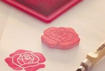 Hand carved stamps /