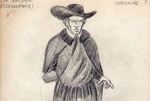 Escuela Superior de Bellas Artes Ernesto De La Cárcova / Estudio sobre vestuario de la época colonial