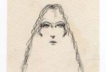 Dibujos 10 / Bocetos a lápiz sin modelo