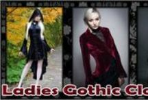Ladies Gothic Clothing / We sell a large selection of women's gothic and alternative clothing from romantic gothic dresses and corsets for a gothic wedding, tutus and mini dresses for clubwear and black tops and fishtail skirts for the working goth lady looking for formal workwear.
