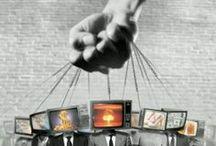 greed & corruption / ruling elites, corporate Mafia, corrupt bankers, politics, and et al. / by Motomu Hatanaka