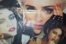 Madonna clippings from 80's Greek magazines(My collection)