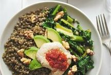 Veg. recipes with lentils