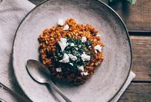 Veg. recipes with rice & bulgur