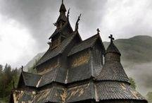 Stave Church, Norway / by Motomu Hatanaka