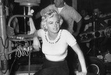 Marilyn Monroe candid shots / by Motomu Hatanaka