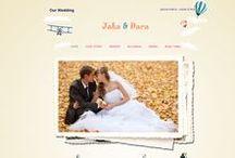 Holiday Session / Tema undangan online holiday session ini didesign untuk pasangan pengantin yang punya hobi traveller. Di dalam tema undangan online ini sendiri ada beberapa icon negara-negara yang sering dijadikan destinasi wisata bagi para traveller.