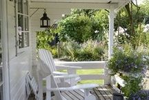 Veranda / veranda, posezení v zahradě, balkon, exterier