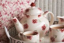 Růžové růže / barevné kombinace , textil v interieru