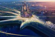 Toshiba Bring Life Forward / Stills from the stunning near future film by Roof Studio
