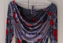 Cucito - T-shirt / Quello che si può fare con magline e jersey di riciclo e non