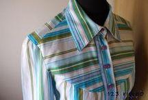 Cucito - Camicie e camicette / Foto e tutorial per creare bluse, camicette, top ... tutte handmade