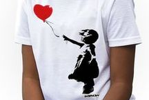 Banksy Kids Girls T-shirts
