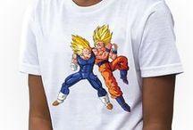 Dragon Ball Kids Girls T-shirts