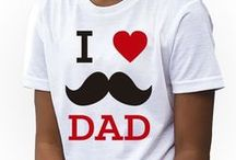 Father's Day Kids Girls T-shirts
