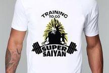 Dragon Ball Men T-shirts