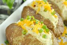 Veg. recipes with potatoes