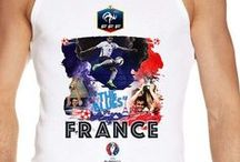 Euro 2016 Men Vests Tanktops