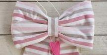 Idee Fiocco Nascita / Birth ribbon DIY