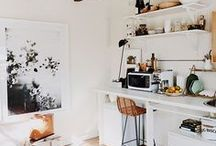 small spaces / Studio apartments, small rooms, tiny houses - limitied space doesn't necessarily mean limited options. Creative ideas and a clever layout is key.
