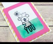Slide cards