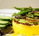 Veg. recipes with polenta