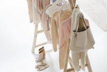 Šatna / Closet / ukládání oblečení