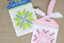 Inpiration: Cross-Stitch Tag
