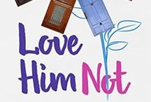 """Love Him Not: """"The End"""" is Only The Beginning. / Love Him Not combines the choose your own path books of your childhood with the dating advice books of today. Hundreds of choices, 60 endings! You love him, you love him not...  (Romantic Comedy, Chick lit, Books, Reading)"""