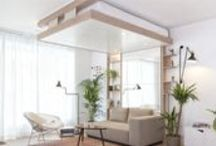 BED UP LOVES SMALL SPACES / Bed Up aime les petits espaces et les idées ingénieuses // Bed Up love small Spaces and smart ideas