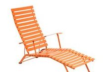 Outdoor Garden Furniture / Classic, colorful modern furniture for your garden.