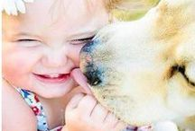 Dolly Loves Children / I'm Dolly the Boston Buddha, the pawsitively Zen pooch on TaoOfDolly.com. Here are some of my favourite photos illustrating the buddhaful child-animal bond ❤ Dolly